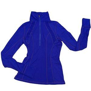Lululemon Define Half-Zip Pullover Blue Jacket 4